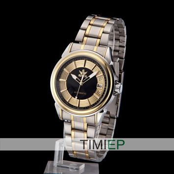Luxury Mens Mechanical Dress Analog Wrist Watch Vintage Swiss Design Men's Watches
