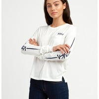 Dry Brush Long Sleeve T-Shirt | RVCA