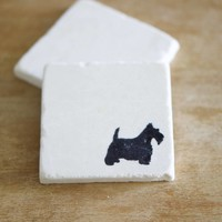 Scottie Dog Coasters