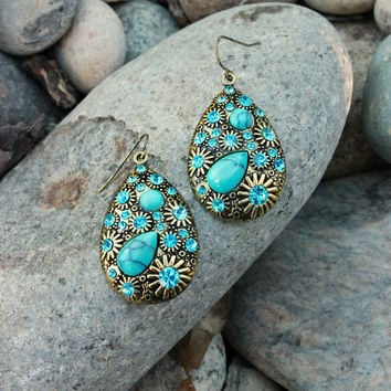 Riverbed Earring