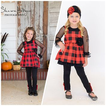 2018 Fall Serendipity Lumber JaneDress W/Legging