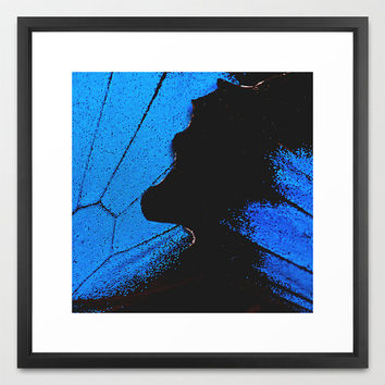 Butterfly Wings III - Fine Art Print - Butterfly Photography - Nature Decor - Photography - Wall Art - Rustic Decor - Blue Butterfly