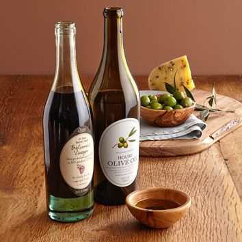 Williams Sonoma House Olive Oil & Olivier 25-Year Barrel-Aged Balsamic Vinegar