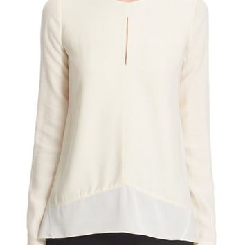 Narciso Rodriguez Fluid Knit Blouse | Nordstrom