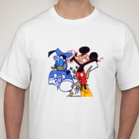 Donald Duck's Revenge White T-shirt