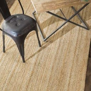 Rugs USA Maui Jute Braided Natural Rug