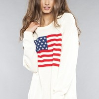 Betsy Flag Sweater