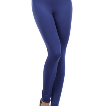 Royal Fleece-lined Leggings