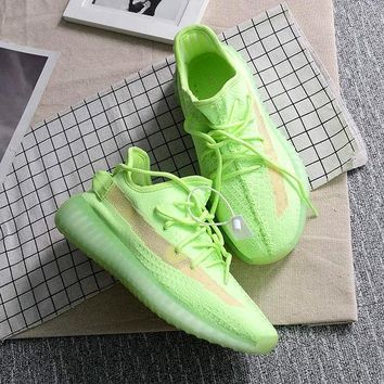 Adidas Yeezy Boost 350 V2 New Trends Men's and Women's Breathable Sneakers