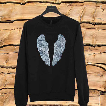 Coldplay Ghost Story Bird sweater Sweatshirt Crewneck Men or Women Unisex Size