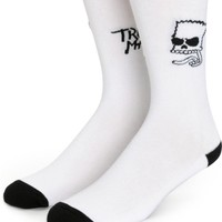 Neff x The Simpsons Trouble Maker Crew Socks