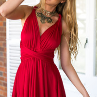 Heartache Dress (Red)