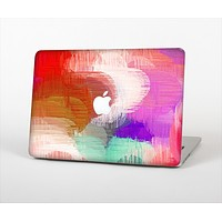 """The Faded Neon Painted Hearts Skin Set for the Apple MacBook Air 13"""""""