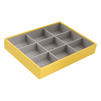 WOLF Women's Stackables Large Deep Yellow Jewelry Tray - Yellow