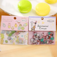 80 pcs/pack Cute Sumikko Gurashi Sealing Stickers Diary Label Stickers Pack Decorative Scrapbooking DIY Stickers free shipping