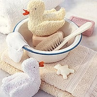 Washcloth Duckie - Martha Stewart Kids' Crafts