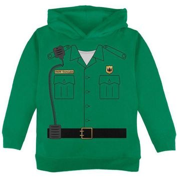 PEAPGQ9 Halloween Forest Park Ranger Costume Toddler Hoodie