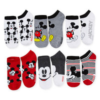Disney 6-pk. Mickey Mouse No-Show Socks