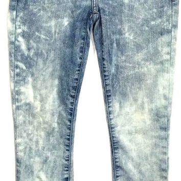 Current Elliott Jeans The Stiletto Crazy Wash Cropped Stretch Women 24 (26x27.5) - Preowned