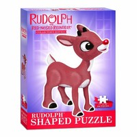 Rudolph the Red-Nosed Reindeer Shaped Collectors Puzzle