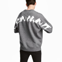 H&M Oversized Sweatshirt $29.99