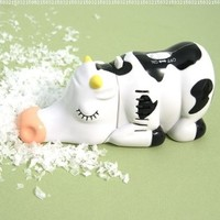 Wrapables Animal Mini Tabletop Vacuum, Cow