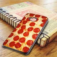 Cheesy Pepperoni Pizza HTC One M7 Case