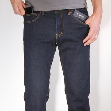 The Best Travel Jeans in the World for Men | Dark Indigo