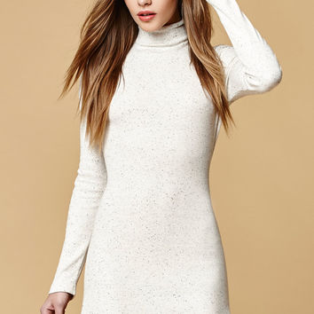 MinkPink Ribbed Turtleneck Dress at PacSun.com