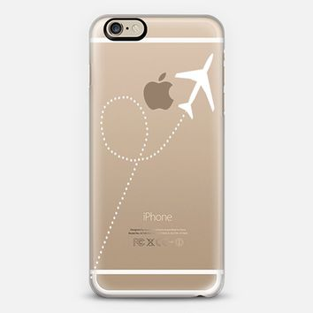 Travel #1 White Transparent iPhone 6 case by Project M   Casetify