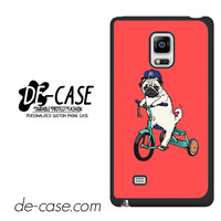 Pug Bicycle For Samsung Galaxy Note Edge Case Phone Case Gift Present
