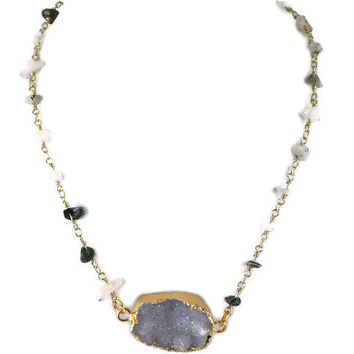 Rae of Stone Necklace