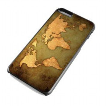 world map Vintage Patern for iphone 6 plus case