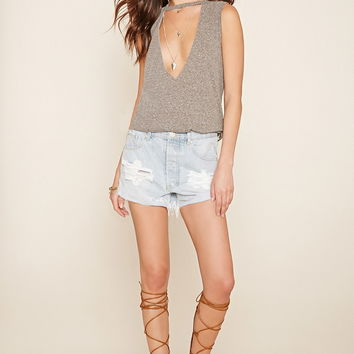 V-Cutout Tank | Forever 21 - 2000204774