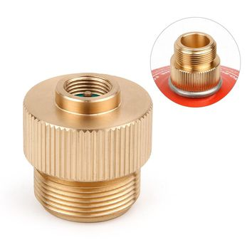 Stove Connector Gas Tank Adapter Camping Stove Converter Propane Adapter MAPP Camping Gas Tank Adapters