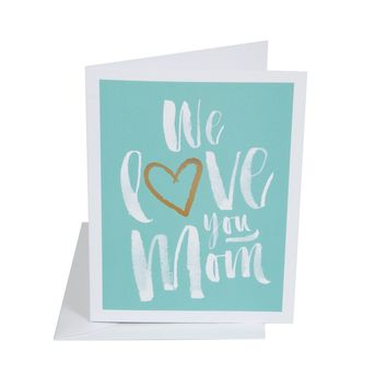 THE SOCIAL TYPE LOVE YOU MOM CARD