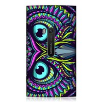 Head Case Designs Owl Aztec Animal Faces Hard Back Case Cover For Nokia Lumia 920