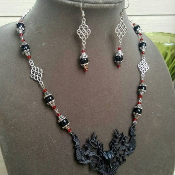 The Black Stag Jewelry Set