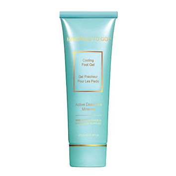 Minerals To Go Premier Dead Sea Cooling Foot Gel, 3.4 Fluid Ounce