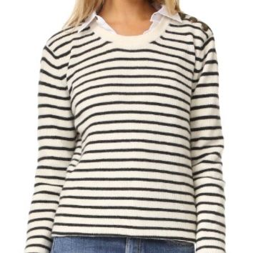 Prim Striped Sweater