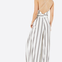 Luxe Stripes Jumpsuit