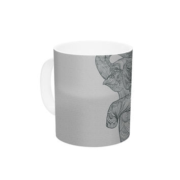 "Belinda Gillies ""Elephant"" Ceramic Coffee Mug"