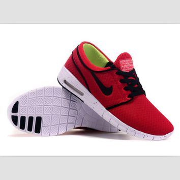 NIKE trend of sports shoes light running shoes Watermelon red