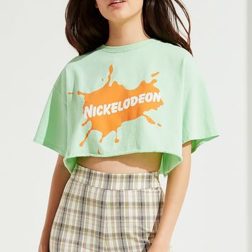 Junk Food Nickelodeon Cropped Tee | Urban Outfitters