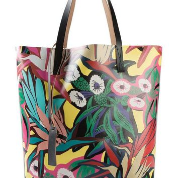 ONETOW Marni floral print shopper tote