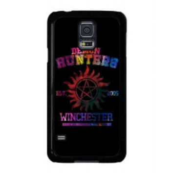 supernatural demon hunters galaxy for samsung galaxy s5 case