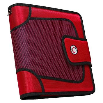 """Case•it 2"""" Binder with Tabbed Closer"""