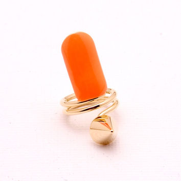 Color Me Ring - Neon Orange