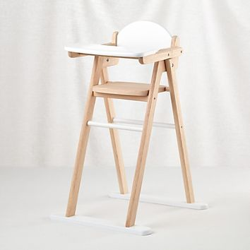 Doll World High Chair in Wooden Toys & Blocks | The Land of Nod
