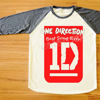 Best Song Ever Shirt One Direction TShirt 1D TShirt by catarocx